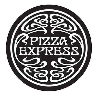 The Pizza Express Logo.