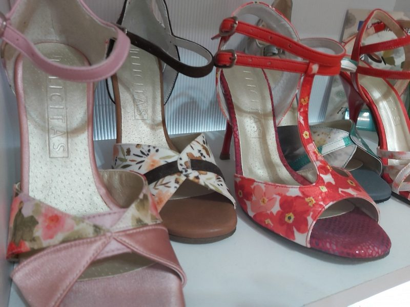 A picture of some Felicitas ladie's shoes